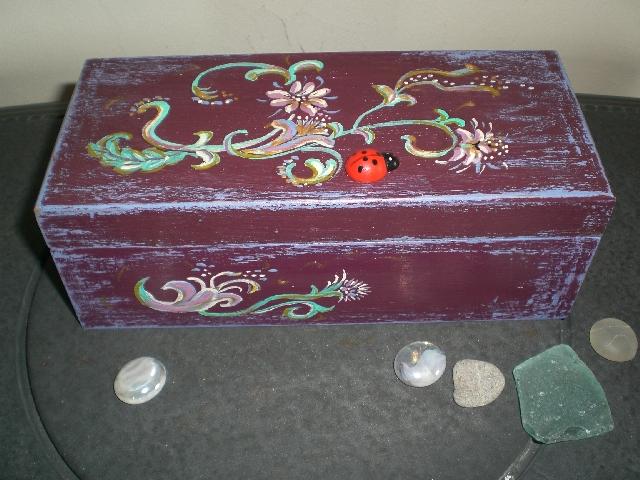 dėžutė pergamentui