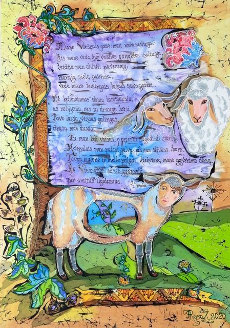 "Šilko batika ""Vešlios ganyklos"""